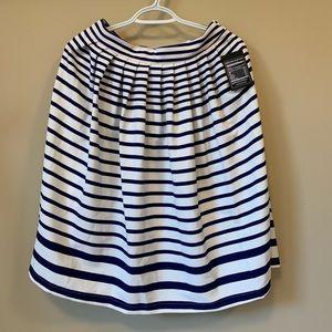 bloomingdale's Lucy Paris Striped Midi Skirt